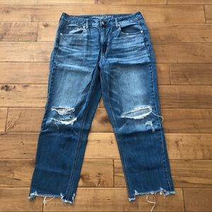 American Eagle Outfitters High Rise Tomgirl Jeans